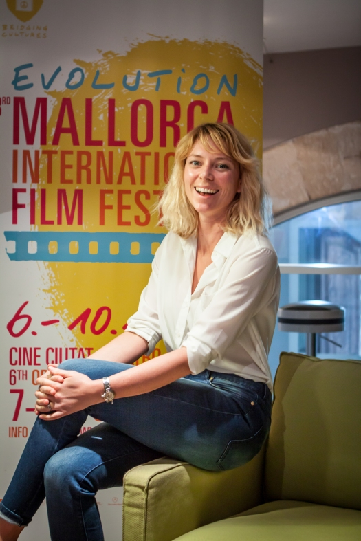 Sandra Seeling Lipski, Evolution Film Festival Mallorca, Photo by Vicki McLeod