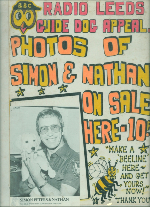 Simon in familiar fundraising role.