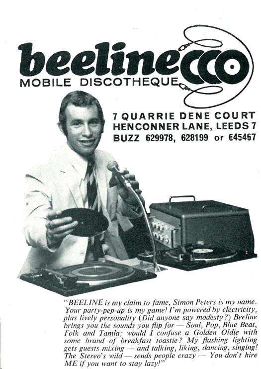 The Beeline Advert