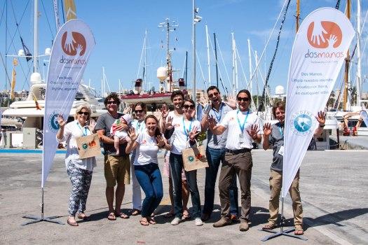 Vicki McLeod, Dos Manos, Mallorca, Majorca, Palma Super Yacht Show, Palma Boat Show, environment, Brad Roberston, Asociación Ondine , Ondine Association